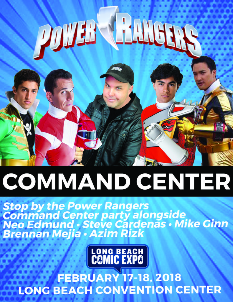 Power Rangers Command Center